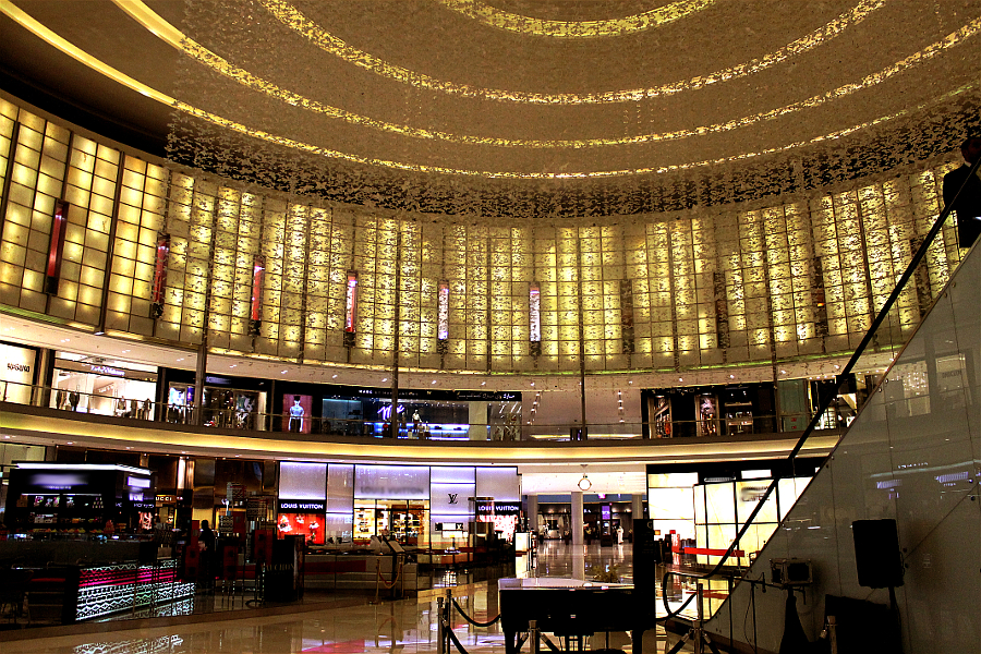 Dubai Mall, das exklusive Shopping-Center